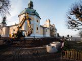 Na Svaté Hoře pokračují práce, běžně přístupná bude až v lednu
