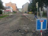 V Příbrami pokračuje rekonstrukce několika ulic