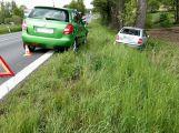 Silnice 4 je u Chraštic uzavřena, došlo zde k další nehodě.