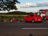 U Letů došlo ke dvěma nehodám, při jedné byl zraněn motorkář