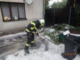 Středočeští hasiči měli kvůli bouřkám čtyřikrát víc zásahů