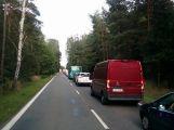Nehoda komplikuje provoz ve směru na Sedlčany