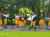 Ve Vysokém Chlumci zněl o víkendu folklor