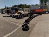 Finále motokárové ligy se uskuteční na parkovišti před aquaparkem