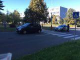 Na přechodu ve Školní ulici byl sražen chodec