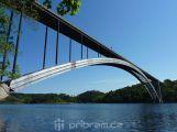 Žďákovský most bude od příštího týdne průjezdný