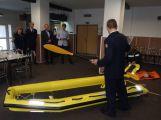 Příbramští hasiči jsou nově vybaveni vodními saněmi