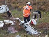 Složky IZS prověřily spolupráci u simulovaného pádu letadla v Brdech