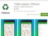 Příbram má mobilní aplikaci, pomůže s tříděním odpadu