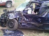 Vážná nehoda u Roželova: Peugeot narazil do stromu