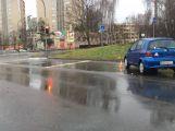 """Nehody se stávají i o Vánocích, dvě auta se srazila na křižovatce u """"Asie"""""""