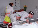 Do příbramské léčebny dlouhodobě nemocných zavítali zdravotní klauni