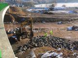 V pátek 24. března dojde k úplné uzavírce dálnice D4 pod mostem.
