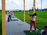 Nábor do golfové akademie se povedl, děti vedl zkušený trenér