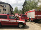 Právě teď: Požár bytového domu v Předním Chlumu