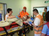 Příbramská nemocnice se zapojila do celokrajského cvičení a vyzkoušela traumaplán