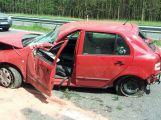 Aktuálně: Vážná dopravní nehoda se zraněním komplikuje dopravu na dálnici D4