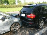 U Milína se střetly dva vozy