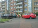 Na křižovtce v Dlouhé ulici se srazily dva vozy
