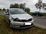Právě teď: U Milína došlo ke střetu dvou vozů