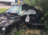 AKTUÁLNĚ: Smrtelná nehoda u Buku. Řidič osobního vozu nepřežil srážku s kamiónem