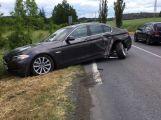 Právě teď: Nehoda dvou vozů blokuje jízdní pruh v Brodské ulici