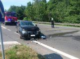 Právě teď: Čelní střet dvou vozidel se zraněním na Brodě