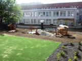 Zahrada ZŠ v Jungmannově ulici bude jedna z nejhezčích ve městě