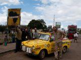 Muzeum v Nové Vsi ukazuje žluté trabanty z cest Dana Přibáně