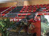 Video: Dinosauři ve sportovní hale návštěvníky zklamali