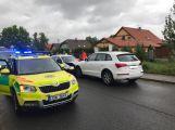 AKTUÁLNĚ: Čelní srážka dvou aut uzavřela Zdabořskou ulici