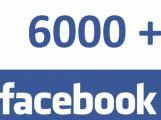 Na Facebooku nám fandí již 6000 lidí. Děkujeme