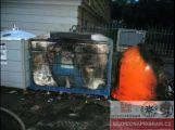Žhář v noci zapaloval v centru Příbrami popelnice