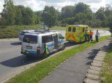 Policie hledá svědky dopolední dopravní nehody
