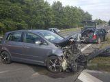Nekončící den plný nehod: Na Brodě došlo ke střetu dvou vozů