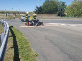 Právě teď: U Milína sražený motorkář se zraněním