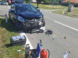 AKTUÁLNĚ: Mezi Drásovem a Skalkou se srazil osobák s kamionem