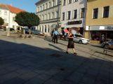 V Pražské vyhrožoval muž druhému zastřelením, údajně kvůli manželce