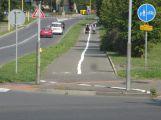 FOTO DNE: Nové rozdělení chodníků na cyklostezky počítá i s návratem z hospody domů