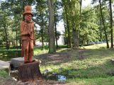 K soše vodníka v areálu Nového rybníka brzy přibudou další pohádkové postavy
