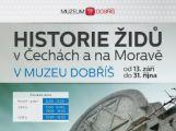 Historie Židů v Čechách a na Moravě v dobříšském muzeu