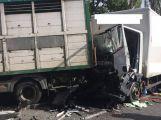 Právě teď: Nehoda v Chrašticích blokuje hlavní silniční tah mezi Příbramí a Strakonicemi