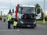 Dopravní policisté kontrolovali řidiče nákladních vozidel
