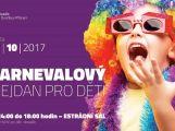 Karnevalový mejdan pobaví děti v Estrádním sále