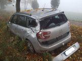 Aktuálně: U Zalužan narazil osobní vůz do stromu