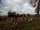 Středočeským hasičům připravil silný vítr přes tisíc zásahů!