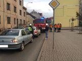 V ulici Čs. armády havarovaly dva vozy