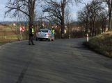 U Kardavce skončil vůz mimo silnici