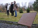 U Památníku Vojna byla odhalena kovová plastika s názvem Zoufalství