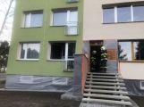 Požár bytu v panelovém domě povolal hasiče